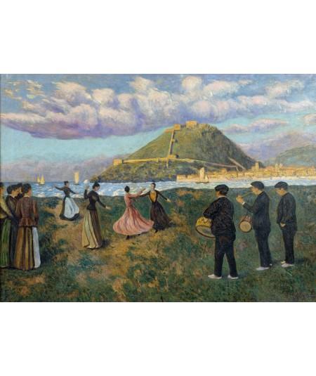 Reprodukcja obrazu Święto Basków