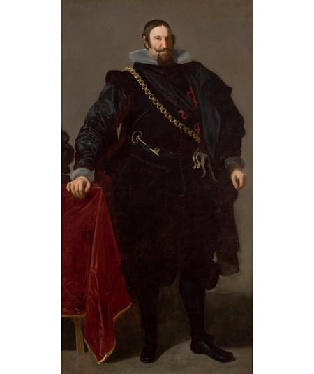Reprodukcja obrazu Portret hrabiego księcia Olivares