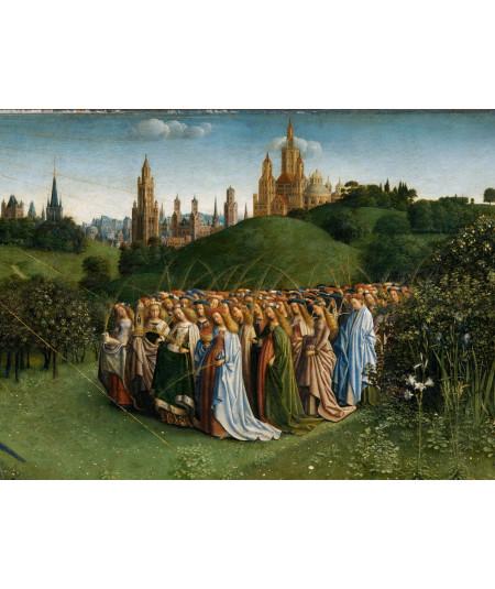 Reprodukcja obrazu Fragment przedstawiający święte kobiety