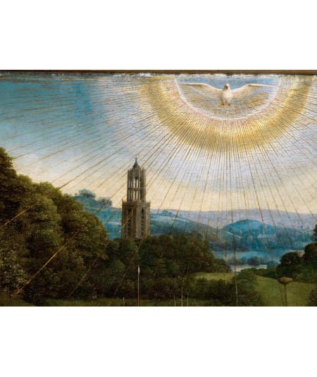 Reprodukcja obrazu Fragment Ducha Świętego pod postacią gołębicy