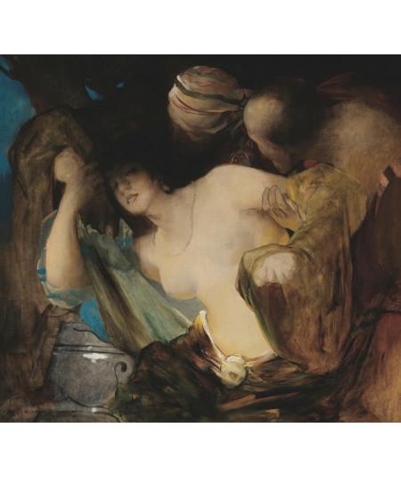 Reprodukcja obrazu Zuzanna i Starcy