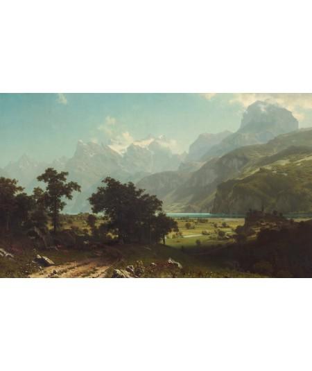 reprodukcja obrazu Jeziora czterech kantonów