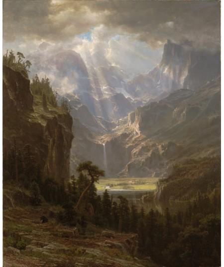 reprodukcja obrazu Szczyt Landera Gór Skalistych