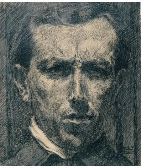 reprodukcja obrazu Autoportret