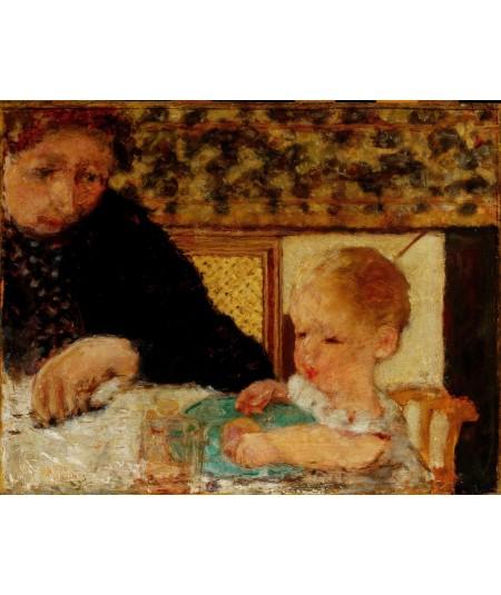 reprodukcja obrazu Babcia z dzieckiem