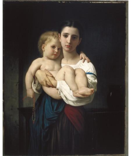 reprodukcja obrazu Starsza Siostra
